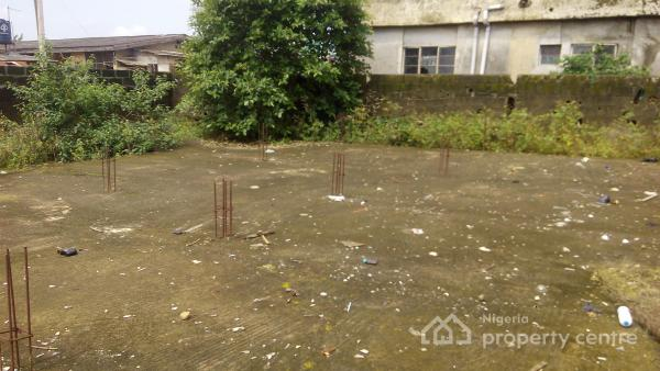 Half Plot of Land Fenced Round with Gate, Agbelekale Off Ekoro Road, Abule Egba, Agege, Lagos, Residential Land for Sale