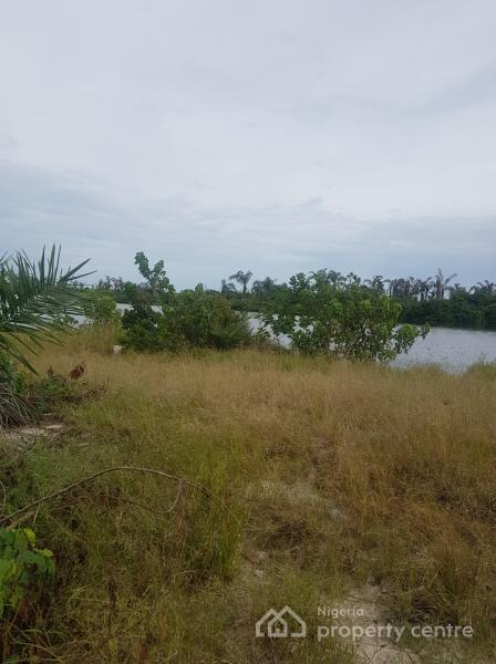 Already Sand Filled 603sqm Water Front Land with Governors Consent, Megamound Estate, Lekki Phase 2, Lekki, Lagos, Residential Land for Sale