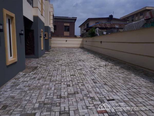 Newly Built 4 Units of 4 Bedroom Terraced Duplex with a Room Bq., Opebi, Ikeja, Lagos, Terraced Duplex for Sale