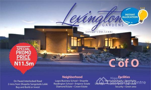 Service Plot of Land, Sangotedo, Ajah, Lagos, Residential Land for Sale