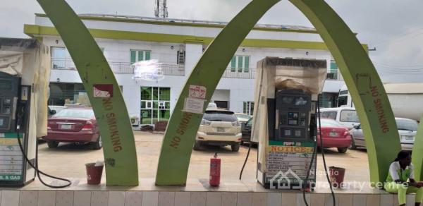 Viable and Functional Petrol Filling Station on a Corner Piece Sitting on 2,700sqm, New Oko-oba, Agege, Lagos, Filling Station for Sale
