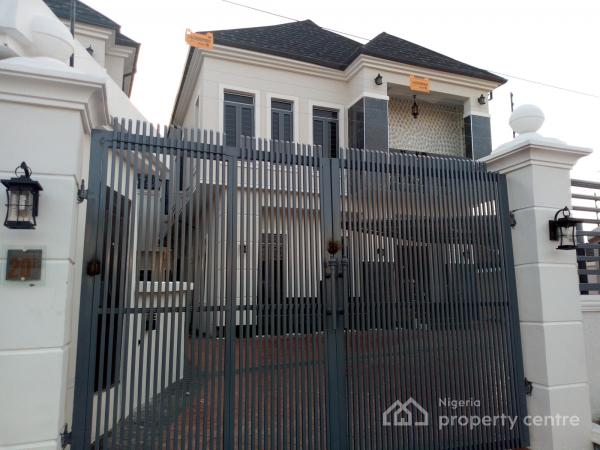 Brand New, Elegant and Luxuriously Finished 5 Bedroom Detached House with Boys Quarters, Chevy View Estate, Lekki, Lagos, Detached Duplex for Sale