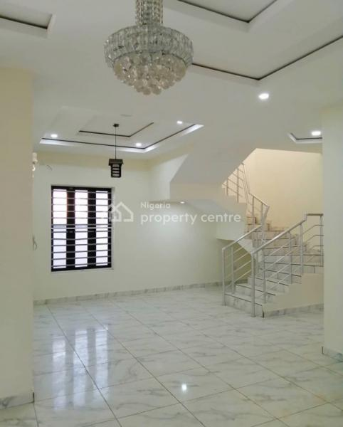 Luxury and Serviced 5 Bedroom Fully -detached House with Bq in Lekki, By Chevron Toll, Lafiaji, Lekki, Lagos, Detached Duplex for Sale