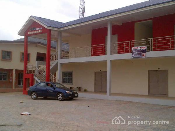 2 Bedroom Flat Office Space Code Akr, Km 3, Along Oba-ile Road, Opp. Oba-ile Housing 2nd Gate (gpm Plaza), Oba-ile, Akure, Ondo, Commercial Property for Rent
