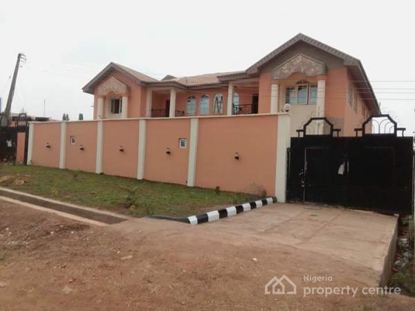 Newly Completed 4 Bedroom Semi-detached Duplex, Central Avenue, Kemta Housing Estate, Abeokuta South, Ogun, Semi-detached Duplex for Sale