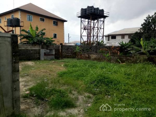 Fully Fenced Half Plot of Dry and Firm Land Measuring Approximately 280 Square Meters, Francis Close, Immanuel International, Peter Odili Road, Trans Amadi, Port Harcourt, Rivers, Residential Land for Sale