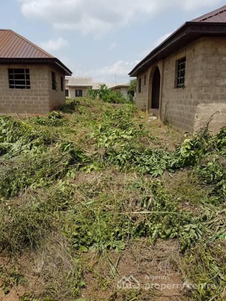 Twin Uncompleted 3 Bedroom Bungalow on Full Plot, Ojigo, Ogun, Detached Bungalow for Sale