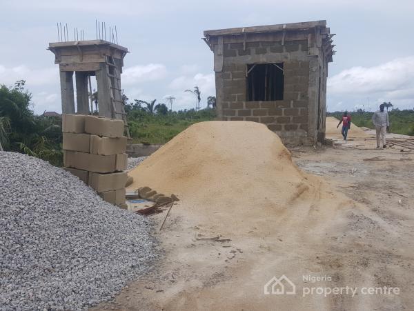 Service Estate Plot Measuring 600sqm, By Novera Mall Shoprite, Sangotedo, Ajah, Lagos, Residential Land for Sale