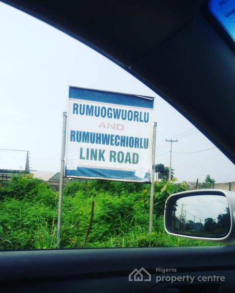 Half Plot of Land with Deed, Off Igwuruta Airport Road, Rukpokwu, Port Harcourt, Rivers, Mixed-use Land for Sale