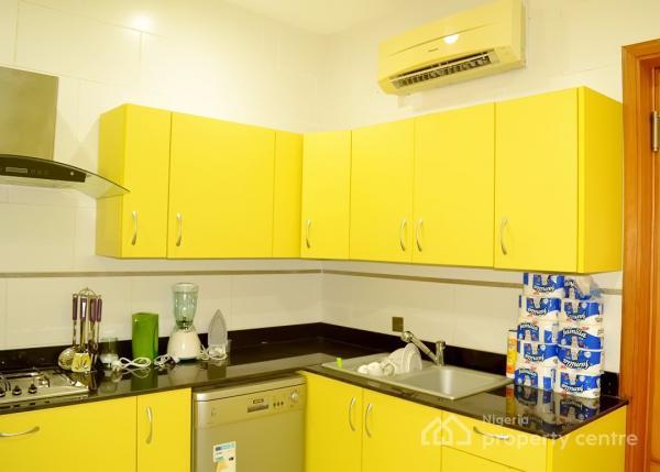 Stunning Two Bedroom  Terraced Apartment, Off Borno Street, Banana Island, Ikoyi, Lagos, Flat Short Let
