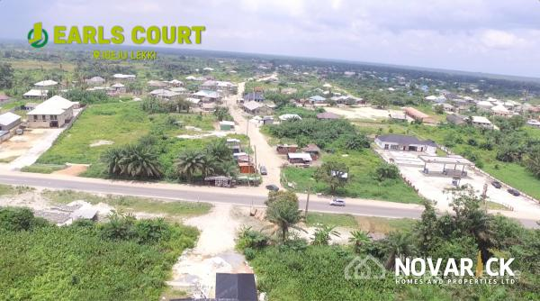 Dry Land in a Solar Powered Estate with Government Approved Excision, Earls Court, Lekki Epe Expressway, Eleranigbe, Ibeju Lekki, Lagos, Residential Land for Sale