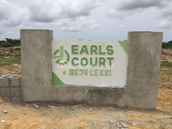 Serviced Plots for Sale at Earls Court Ibeju-lekki, Earls Court, Lekki Epe Expressway, Eleranigbe, Ibeju Lekki, Lagos, Residential Land for Sale