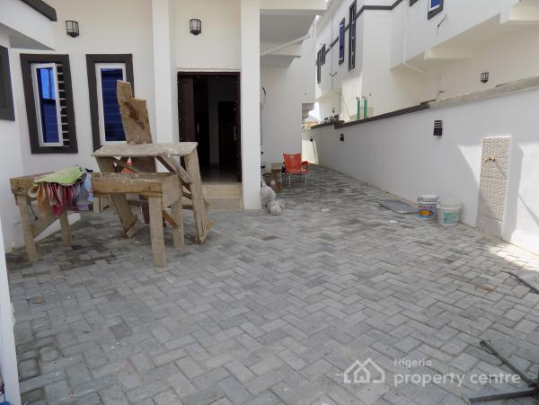 Classic 4 Bedroom Luxury Semi Detached Duplex with a Domestic Room @ a Gated Serene Estate (2.5kva Solar Energy), Opposite Agungi, By Domino Pizza, Lekki Right, Ologolo, Lekki, Lagos, Semi-detached Duplex for Sale