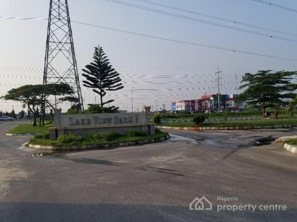 Dry Land Measuring 800sqm in a Secured Estate, Lakeview Park Estate Phase 1 ( Just Around Vgc), Ikota Villa Estate, Lekki, Lagos, Residential Land for Sale