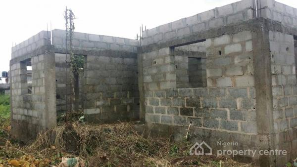 Uncompleted Four Bedroom Detached House, Area 8, Opic Estate, Agbara-igbesa, Lagos, Detached Duplex for Sale