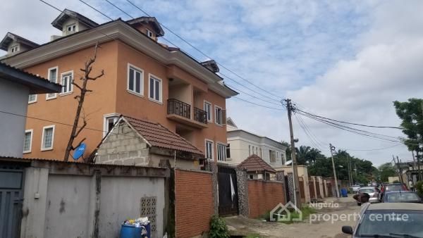 Brand New 4 Bedroom Duplex with a Room Bq and a Built in Garage, Off Coker Road, Ilupeju Estate, Ilupeju, Lagos, Terraced Duplex for Sale