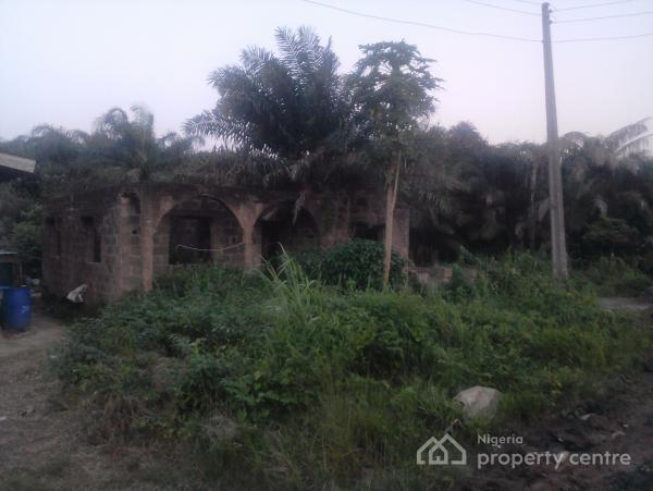 Un-completed 6 Unit of 2 Bedroom Flat on Half Plot of Land, Ojokoro Road, Agric, Ikorodu, Lagos, Block of Flats for Sale