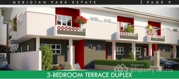 Your Dream Home: 3 Bedroom Luxury Duplex, Beside General Paint, Ajiwe, Ajah, Lagos, Terraced Duplex for Sale
