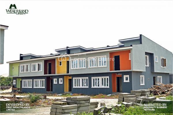 4 Bedroom Terrance Duplex with C of O, Oribanwa, Ibeju Lekki, Lagos, Terraced Duplex for Sale