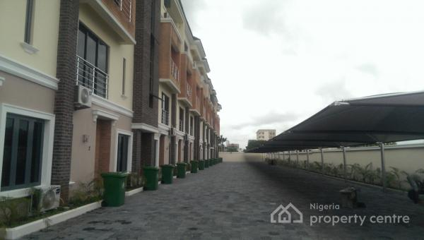 Brand New Well Finished 4 Bedrooms Terraces Duplex with B/q, Millennium Estate, Opposite The Palms Mall, Oniru, Victoria Island (vi), Lagos, Terraced Duplex for Sale