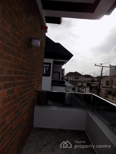 Superb 4 Bedroom Luxury Fully Detached Duplex with a Domestic Room, Behind Mega Chicken, Ikota Villa Estate, Lekki, Lagos, Detached Duplex for Sale