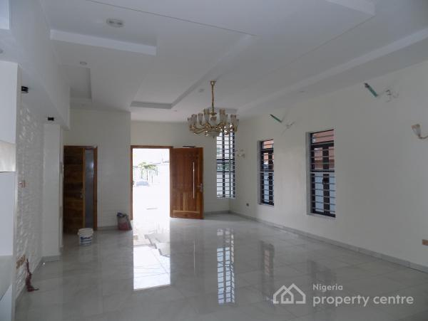 Classically Designed 5 Bedroom Luxury Fully Detached Duplex with a Domestic Room, The Hybrid, Chevron Drive, Chevy View Estate, Lekki, Lagos, Detached Duplex for Sale