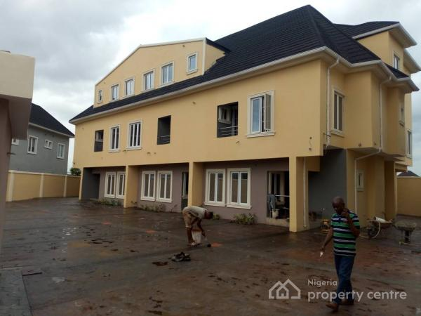 Brand New 4 Nos 4 Bedroom Terrace Duplexes, Off Cmd Road, Phase 2, Gra, Magodo, Lagos, Terraced Duplex for Sale