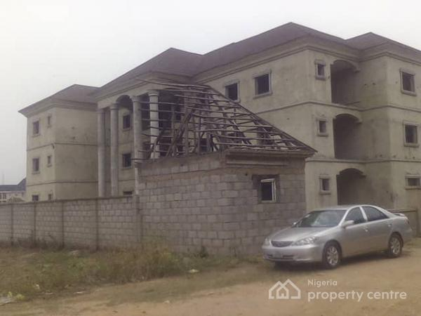 Block of 3 Bedroom Flats(3 Units) and 2 Bedroom Flats (3 Units), Behind Bethel Baptist Church, Aftero Mobil Junction, on D  Gwarinpa, Mabuchi, Abuja, Block of Flats for Sale