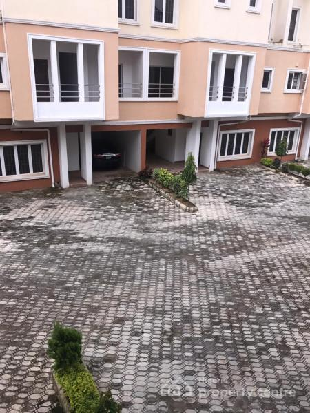 a Tastefully Finished New 4 Bedroom Terraced Duplex with 1 Room Bq, Katampe Extension, Katampe, Abuja, Terraced Duplex for Rent