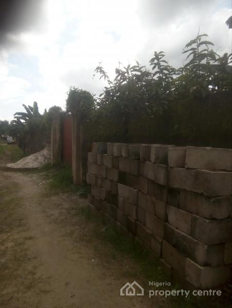 a Well Fence and Gated 1 & Quarter Plot, Off Rumuduru Eliowhani Road, Rumuduru, Port Harcourt, Rivers, Residential Land for Sale