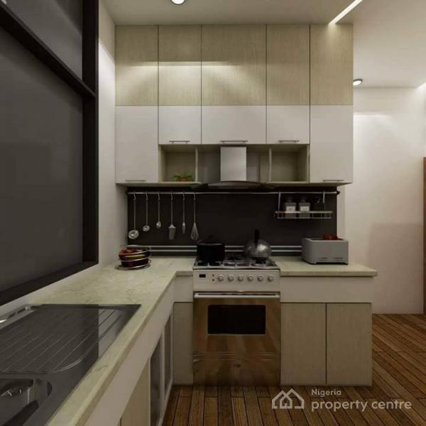 Off Plan : Exquisitely Built One Bed Mini Flat with Topnotch Facilities (water Front ), Off Freedom Way, Lekki Phase 1, Lekki, Lagos, Mini Flat for Sale