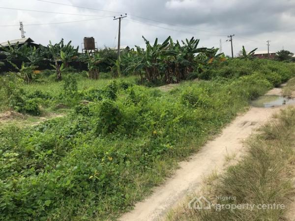 Two Plots of Land Measuring 1200m2, Engr Babatunde Bakare Crescent Abijo Gra, Sangotedo, Ajah, Lagos, Land for Sale