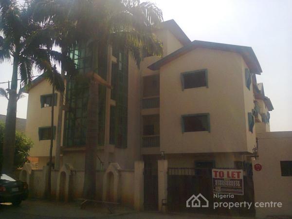4 Bedroom Maisonette Code Abj, Mahathma Gandhi Street, Asokoro District, Abuja, Semi-detached Duplex for Rent