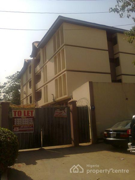 3 Bedrom Flat with One Room Bq Code Abj, Okemesi Crescent, Area 2, Garki, Abuja, Flat for Rent