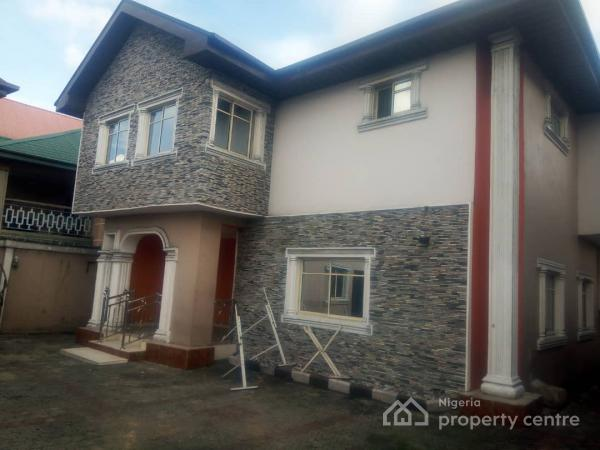 Executive and Superbly Finished 4 Bedroom Detached Duplex with 2room Boys Quarters, Ozuboko, Abuloma, Port Harcourt, Rivers, Detached Duplex for Sale