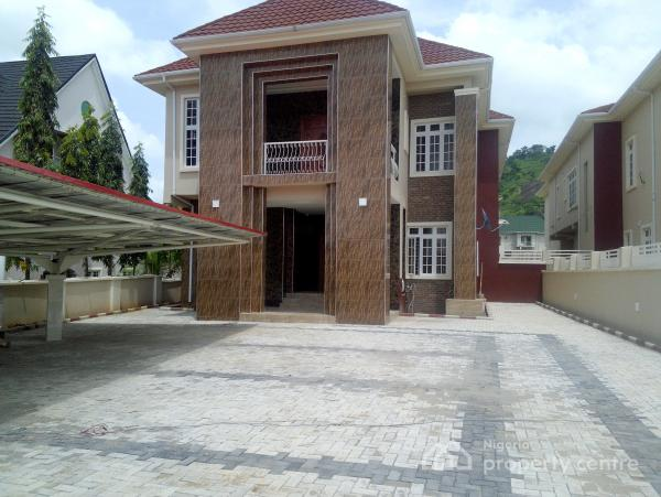 Brand New and Exquisitely Finished 5 Bedroom Detached House with 4 Rooms Bq, Katampe Extension, Katampe, Abuja, Detached Duplex for Sale