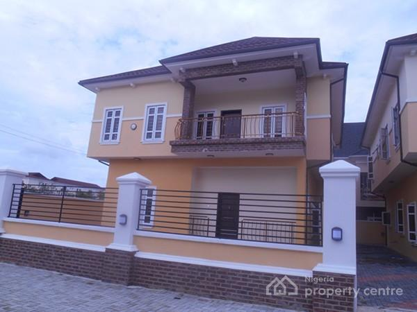 Luxury 5 Bedroom Fully Detached Duplex, South Lake Homes Estate, Behind Spg, Ologolo, Lekki, Lagos, Detached Duplex for Sale
