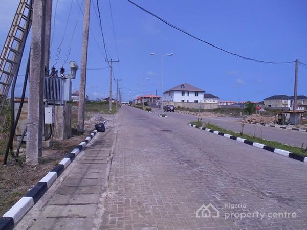 Plot of Land (675 Sqm), Fountain Springville Estate, Behind Novare Mall (shoprite), Sangotedo, Ajah, Lagos, Residential Land for Sale