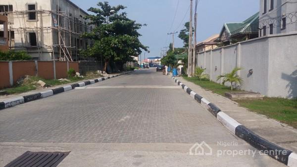 Full Plot of Land (650 Sqm), Atlantic View Estate, Alpha Beach Road, Chevy View Estate, Lekki, Lagos, Residential Land for Sale
