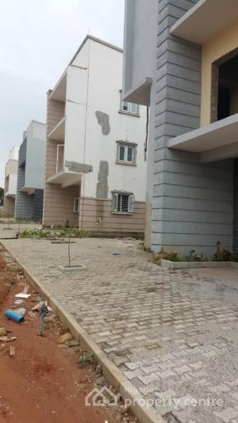 Newly Built Spacious 4 Bedroom Terraced Duplex with a Room Bq, Fitted Kitchen, Etc., Mabuchi, Abuja, Terraced Duplex for Sale
