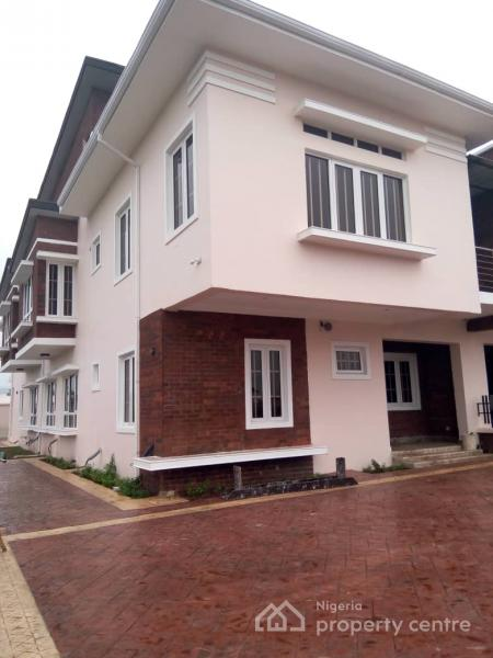 Tastefully Built 5 Bedrooms Fully Detached Duplex and a Bq, Gloss and Well Fitted Kitchen, 3 Box Rooms, 2 Living Rooms Etc, Osapa, Lekki, Lagos, Detached Duplex for Sale