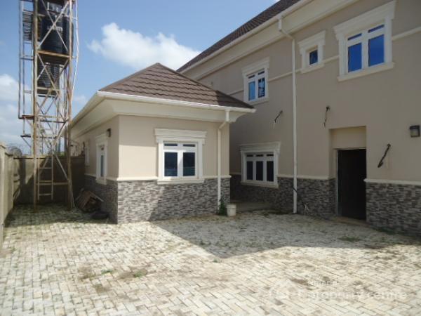 4 Bedroom Semi Detach Duplex with Bq, Bitmoore Estate, Behind Sunnyvale, Galadimawa, Abuja, Semi-detached Duplex for Sale