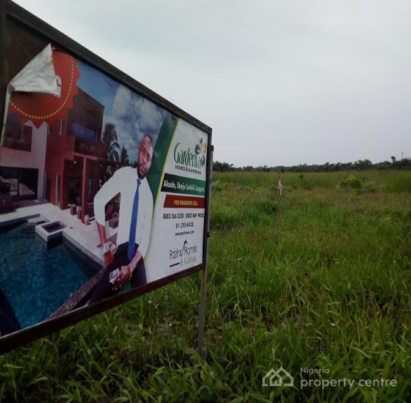 Plots of Estate  Land, Gardenia Homes & Gardens, Very Close to Express, Akodo Ise, Ibeju Lekki, Lagos, Residential Land for Sale