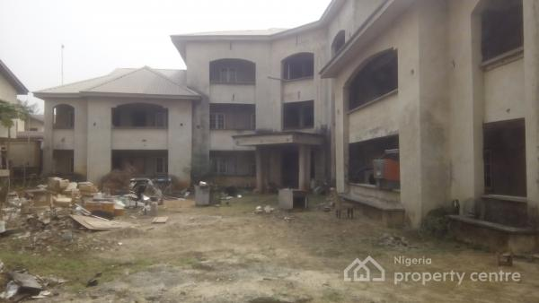 a Family Home with Guest House and a Mixed Development Building, Okupe Estate, Mende, Maryland, Lagos, Detached Duplex for Sale