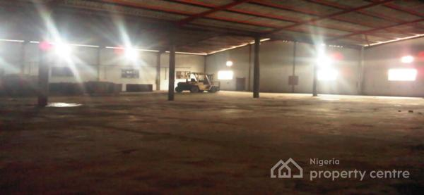 Warehouse Capacity of 34,000 Sqft with Office Complex and Staff Accommodation, Ikeja Along, Mangoro, Ikeja, Lagos, Warehouse for Rent