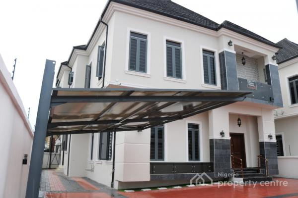 Magnificent, Brand New and Luxuriously Finished 5 Bedroom Detached House with Boys Quarters, Chevy View Estate, Lekki, Lagos, Detached Duplex for Sale