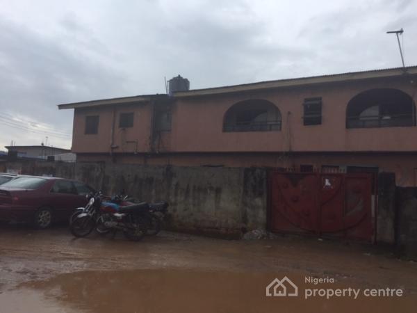 Block of Flats Consist of 2 Nos. 3 Bedroom Flats and 2 Nos 2 Bedrooms, No. 74, Ilamoye Street, Ilasamaja, Ijesha, Lagos, Block of Flats for Sale