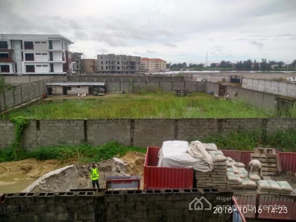 820sqm Fenced Land, Along Banana Island Road, Mojisola Onikoyi Estate, Ikoyi, Lagos, Residential Land for Sale