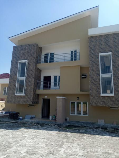Newly Built (4 Bedroom Terraced with a Bq), Chevron, Chevy View Estate, Lekki, Lagos, Terraced Duplex for Sale
