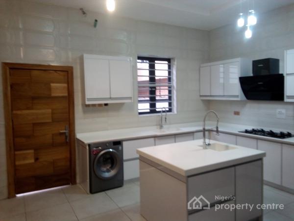 Luxury Built 5bedroom Detached Duplex with Boys Quarter, Chevron, Lekki, Lagos, Detached Duplex for Sale
